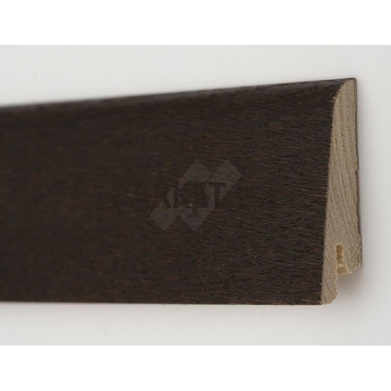 Дуб Рустик Термо 2200 х 60 х 19  плинтус шпонированный натуральный