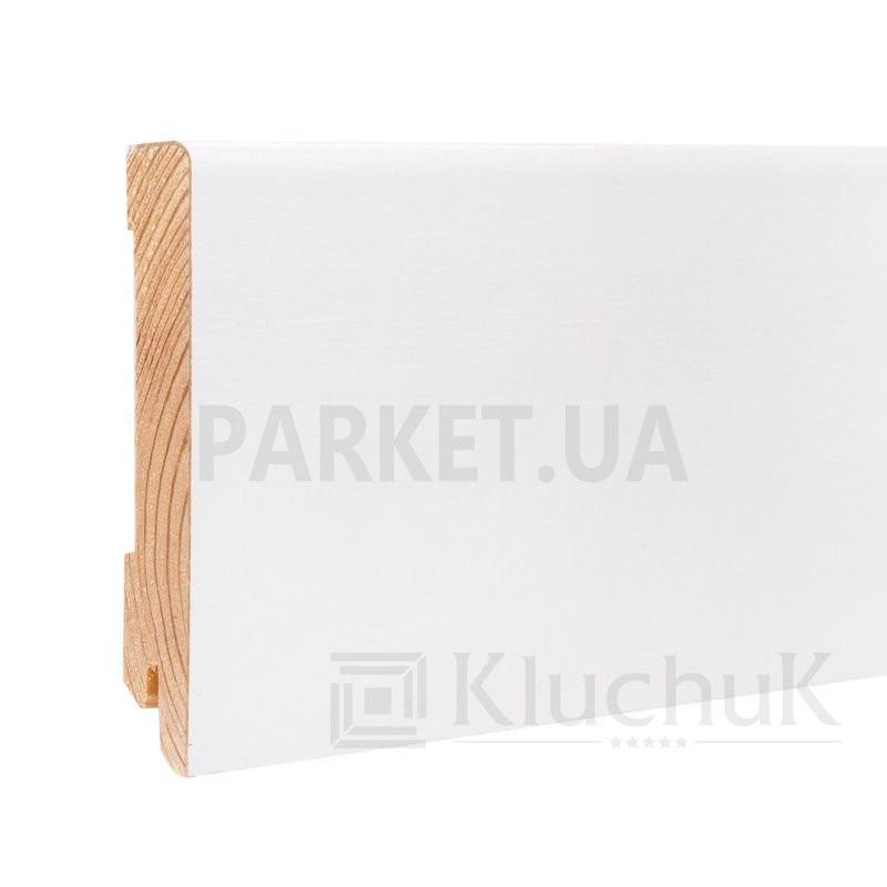 Плинтус шпонированный WHITE PLINTH Модерн 2200Х100Х19