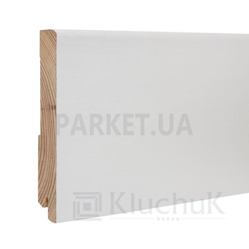 Плинтус шпонированный WHITE PLINTH Модерн 2200Х120Х19