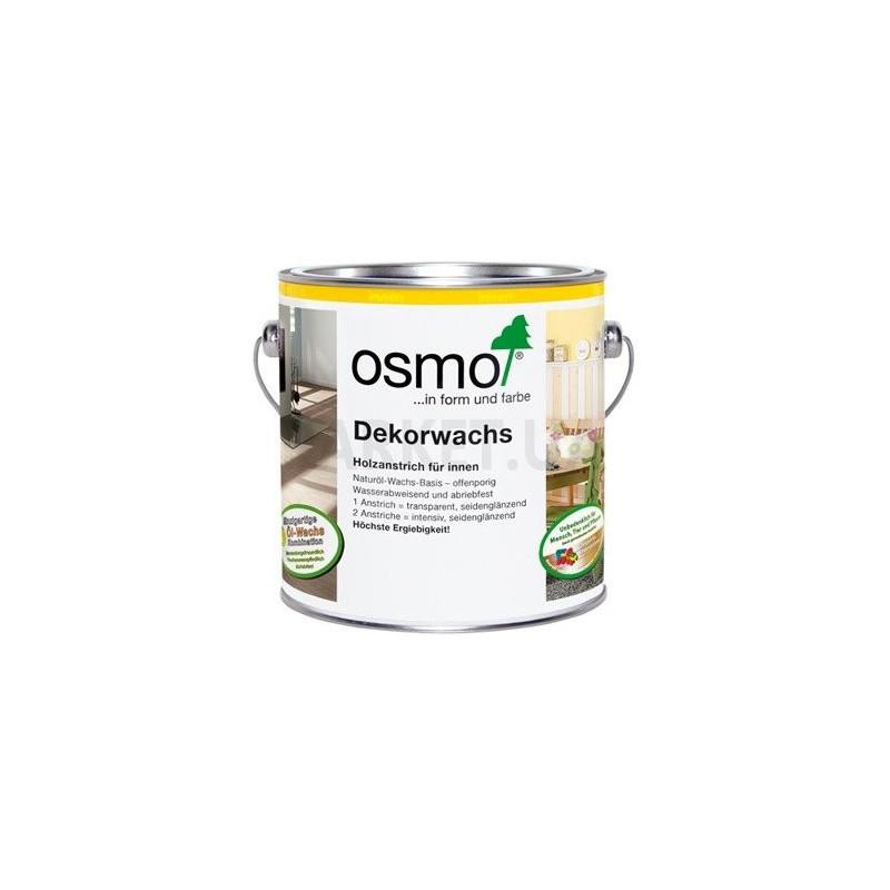 Масло Osmo зеленое (~ RAL 6029) Dekorwachs Intensive