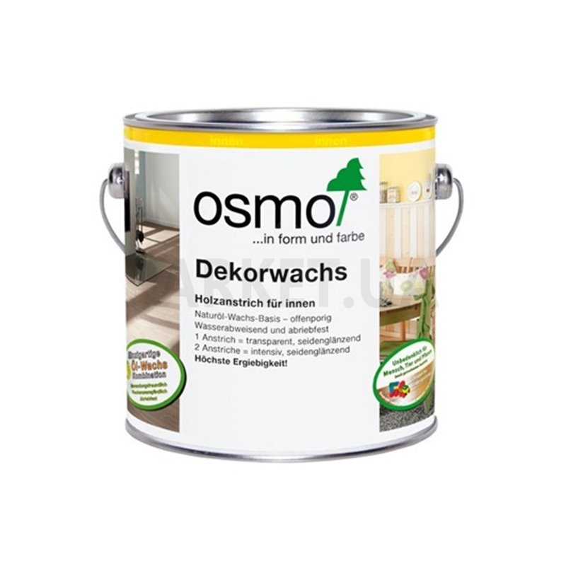 Масло Osmo белое матовое Dekorwachs Intensive