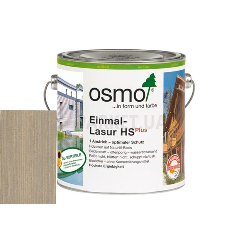 Однослойная лазурь Einmal-lasur HS серебристый тополь