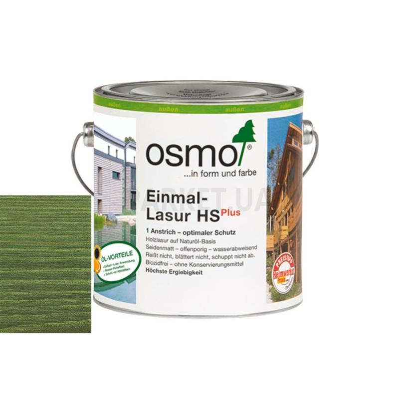 Однослойная лазурь Einmal-lasur HS зеленая ель