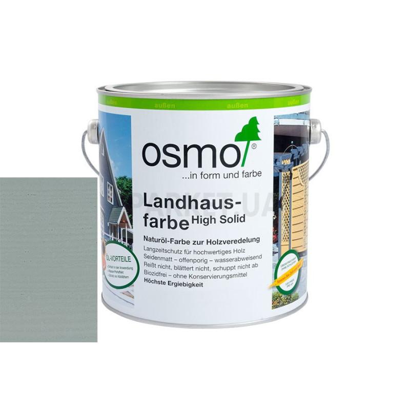 Непрозрачная краска Landhausfarbe серый туман