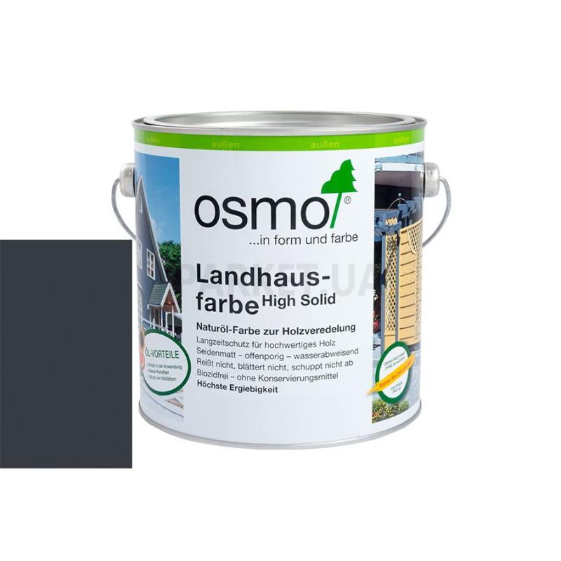 Непрозрачная краска Landhausfarbe серый антрацит