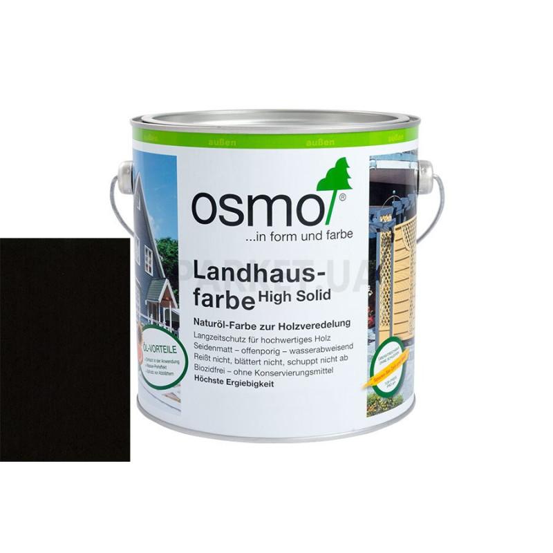 Непрозрачная краска Landhausfarbe серо-черная