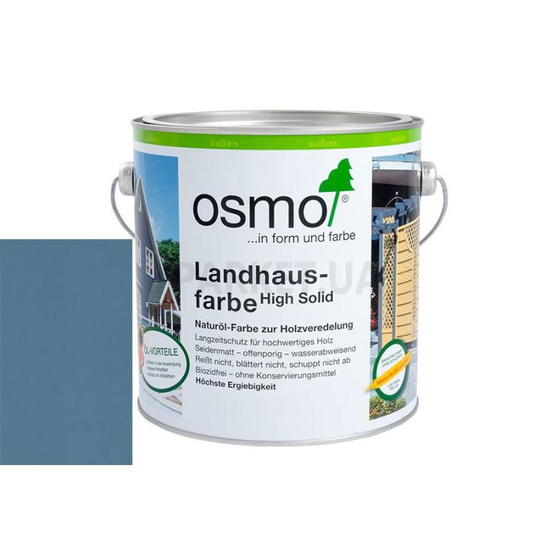 Непрозрачная краска Landhausfarbe серо-голубая