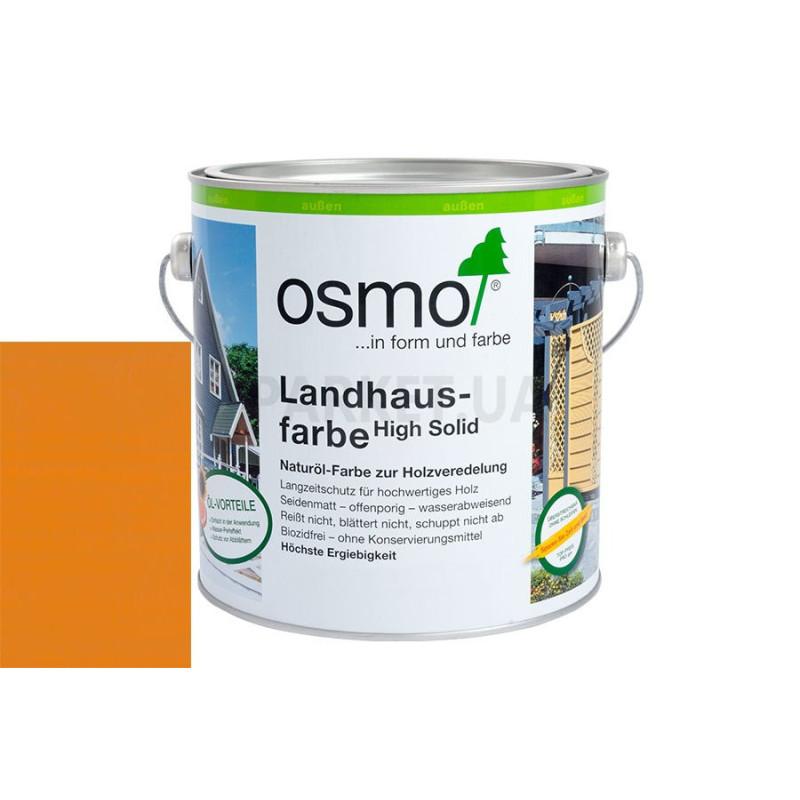 Непрозрачная краска Landhausfarbe желтая ель
