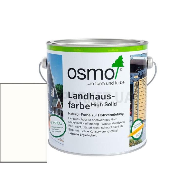 Непрозрачная краска Landhausfarbe белая