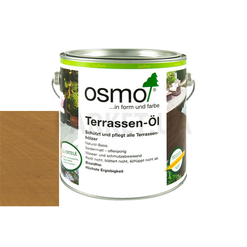 Масло для террас Osmo для гарапы 0,125/ 0,75/ 2,5/ 25 л