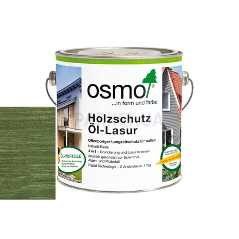 Защитное масло-лазурь Holzschutz ol-lasur темно-зеленая