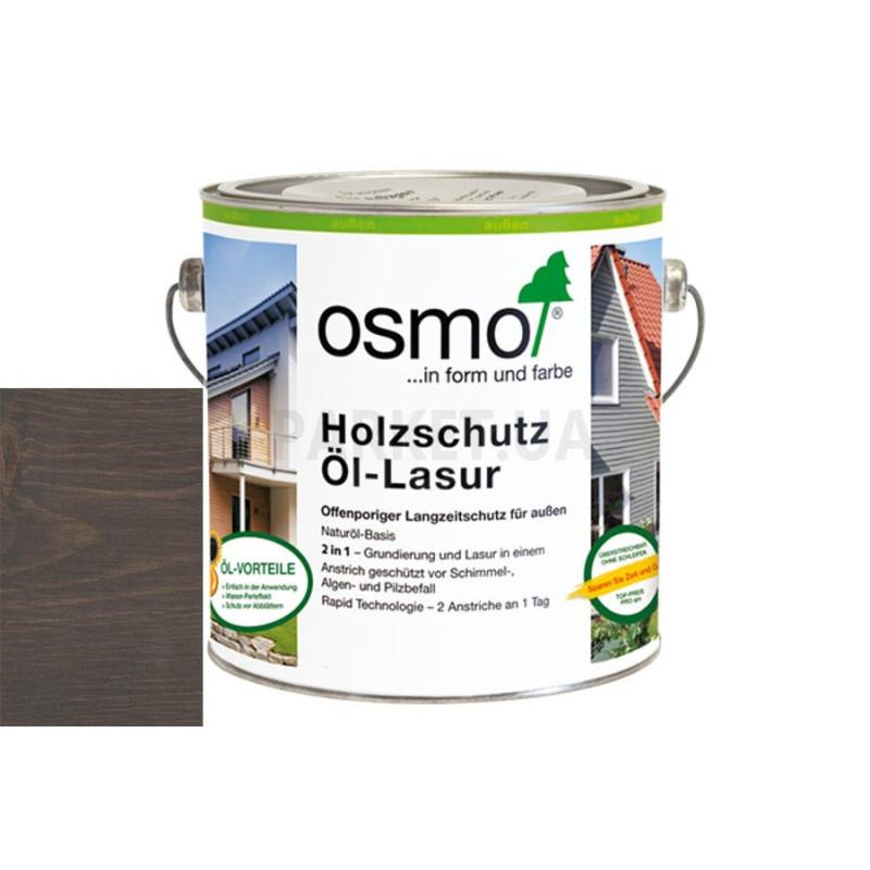Защитное масло-лазурь Holzschutz ol-lasur серый кварц