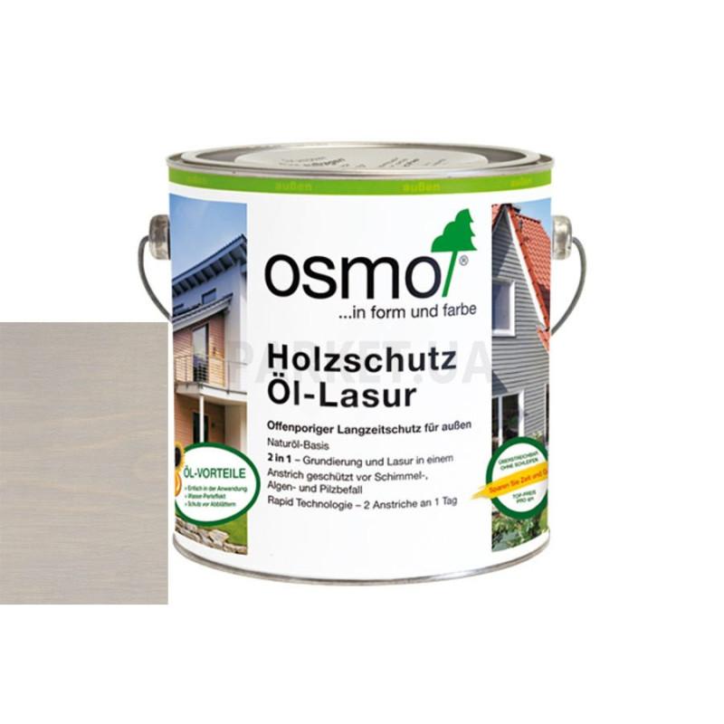 Защитное масло-лазурь Holzschutz ol-lasur серый жемчуг