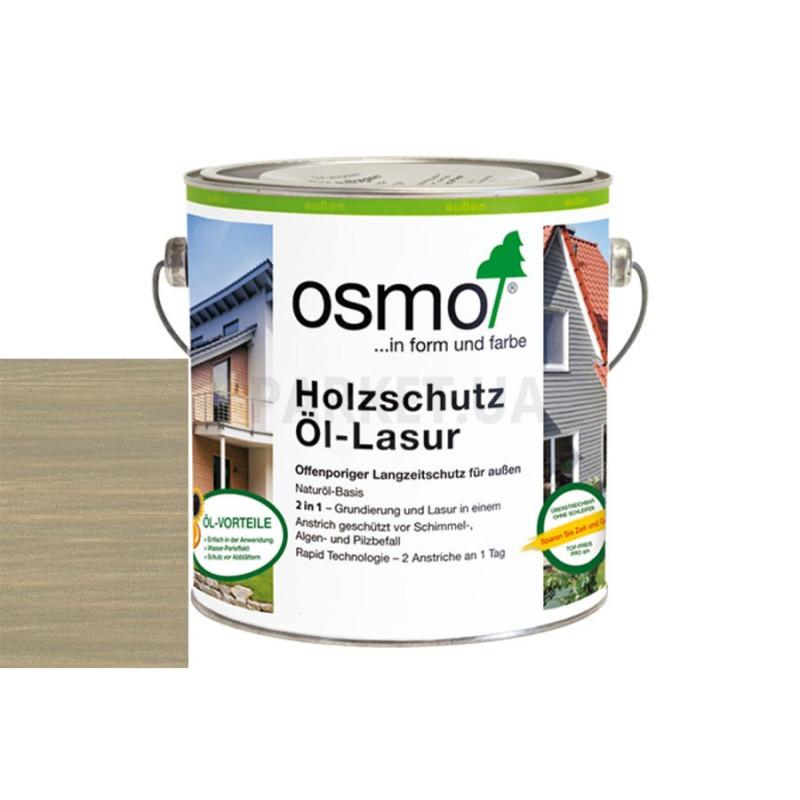 Защитное масло-лазурь Holzschutz ol-lasur серый базальт