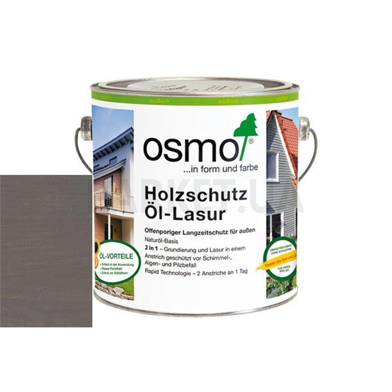 Защитное масло-лазурь Holzschutz ol-lasur патина