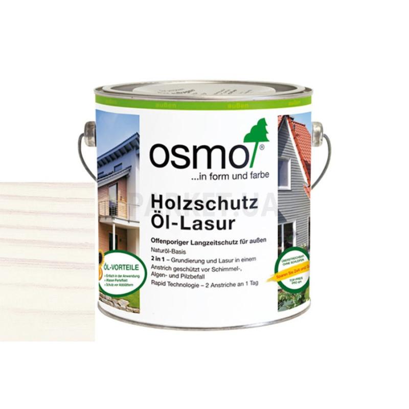 Защитное масло-лазурь Holzschutz ol-lasur белая