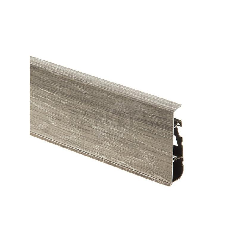 Плинтус пластиковый Cezar Hi Line Prestige Wood 2500 х 74 х 22