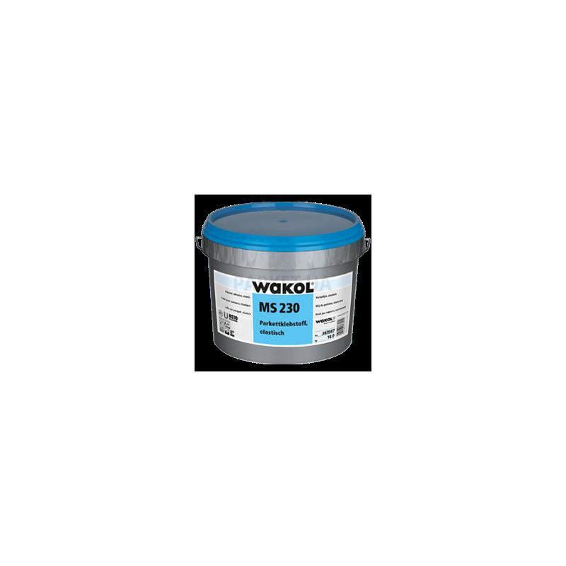 Клей для паркета Wakol MS230 силановый, эластичный 18 кг