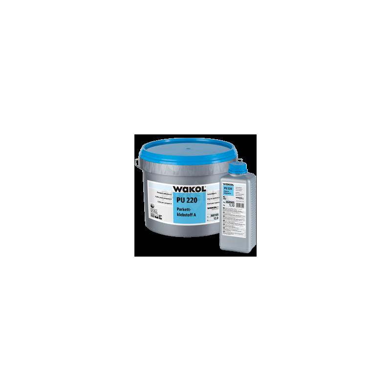 Клей для паркета Wakol PU220 полиуретановый 2-х компонентный 13.12 кг