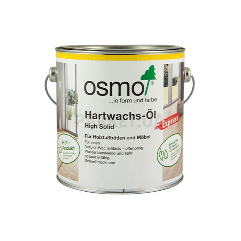 Масло с твердым воском быстросохнущее бесцветное шелковисто-матовое OSMO 3332