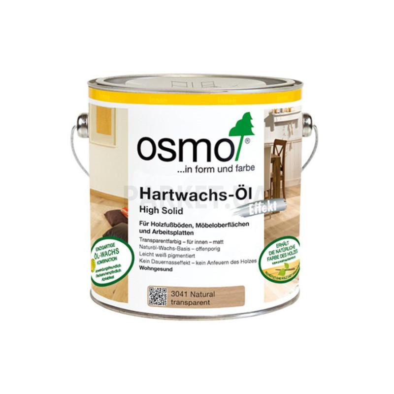 Масло с твердым воском Osmo натур (без поджига) Hartwachs-ol Farbig 0,125/0,75/2,5 л