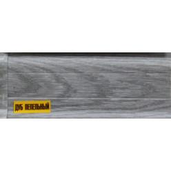 Плинтус пластиковый Дуб пепельный 22 х 55 х 2500
