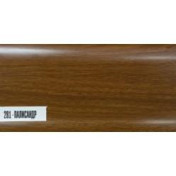 Плинтус пластиковый Палисандр 25 х 85 х 2500
