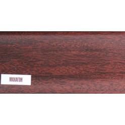 Плинтус пластиковый Махагон 25 х 85 х 2500