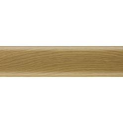 Плинтус пластиковый дуб темный 2500 х 56 х 20