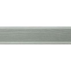 Плинтус пластиковый ясень серый 2500 х 56 х 20