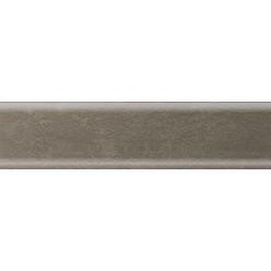 Плинтус пластиковый камень темный 2500 х 56 х 20