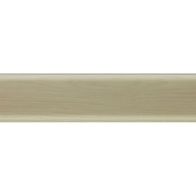 Плинтус пластиковый дуб полярный 2500 х 56 х 20