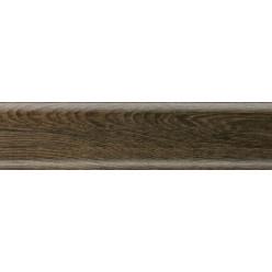 Плинтус пластиковый Salag Sg56 дуб модена 2500 х 56 х 20