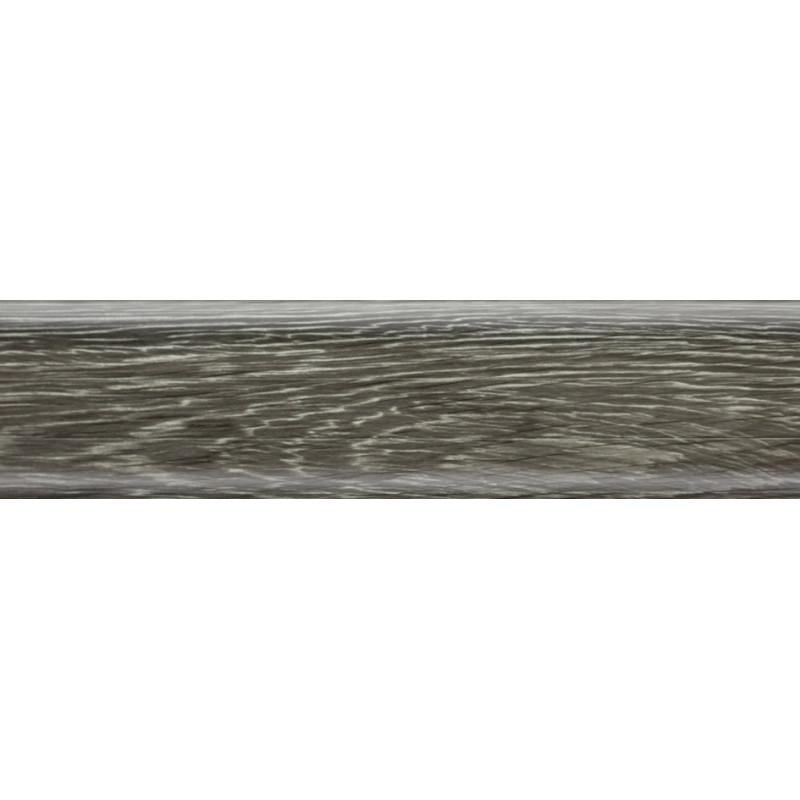 Плинтус пластиковый дуб бедрок 2500 х 56 х 20