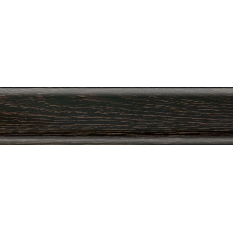 Плинтус пластиковый черное дерево 2500 х 56 х 20