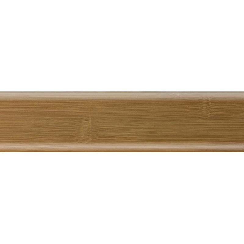 Плинтус пластиковый бамбук карамель 2500 х 56 х 20