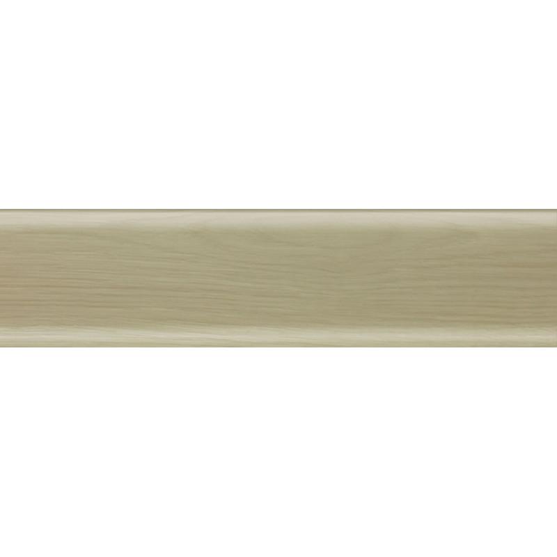 Плинтус пластиковый дуб полярный 2500 х 80 х 20
