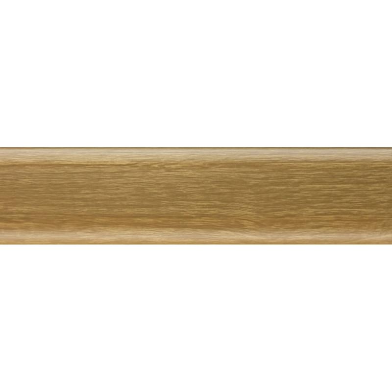 Плинтус пластиковый дуб элегант 2500 х 70 х 22