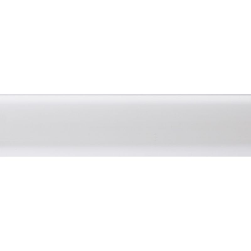 Плинтус полиуритановый белый 2500 х 80 х 14