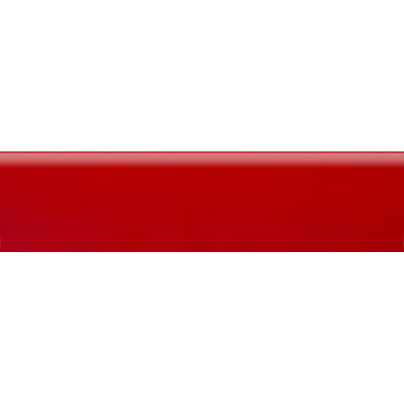 Плинтус полиуритановый красный 2500 х 80 х 14