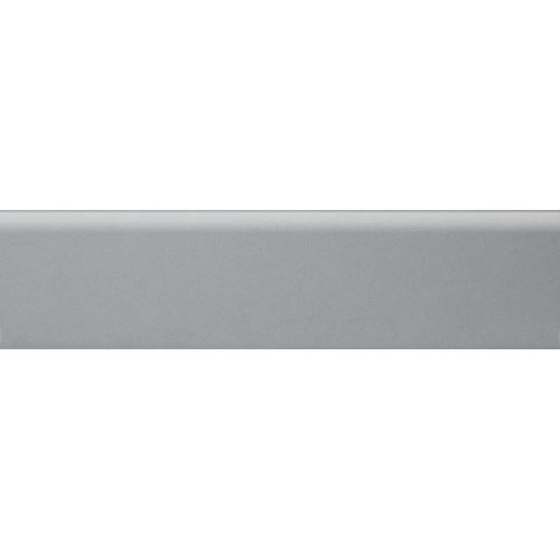 Плинтус полиуритановый серебро 2500 х 80 х 14
