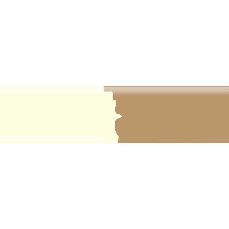 Плинтус полиуритановый под покраску 2500 х 100 х 16