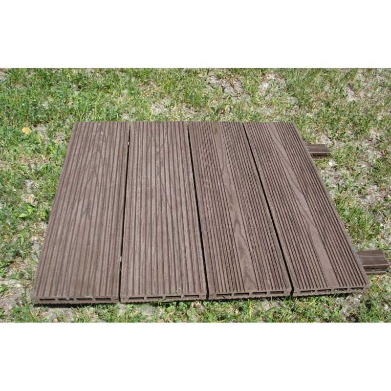 Террасная доска Lite Wood Венге (полая)
