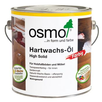Масло Osmo белое Hartwachs-ol Farbig 0,125/0,75/2,5 л