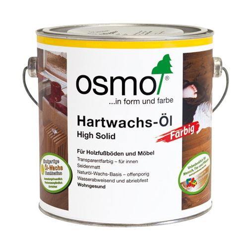 Масло Osmo черное Hartwachs-ol Farbig 0,125/0,75/2,5 л