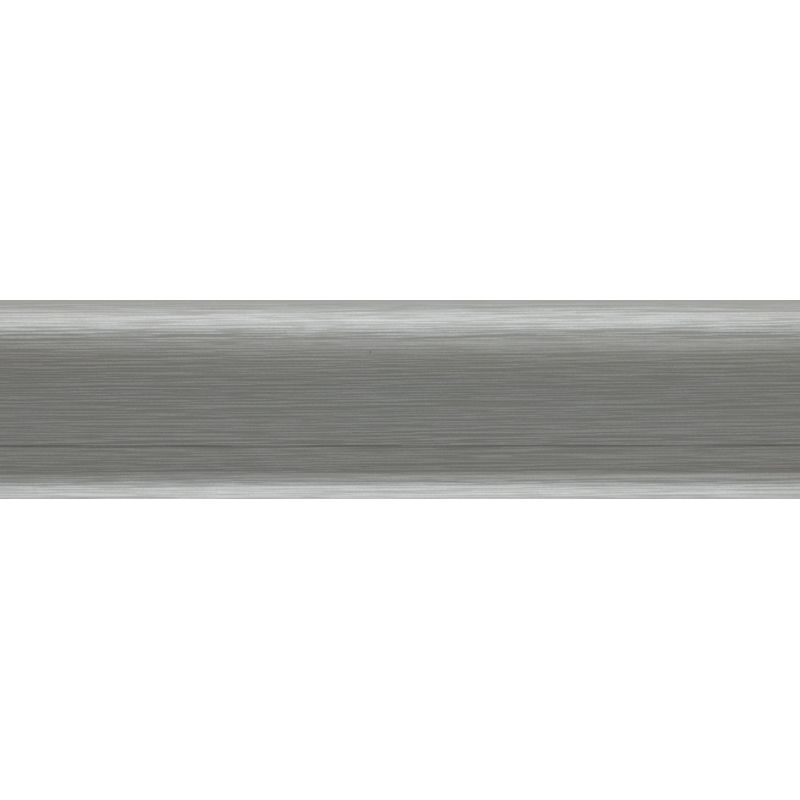 Плинтус пластиковый алюминий 2500 х 62 х 15