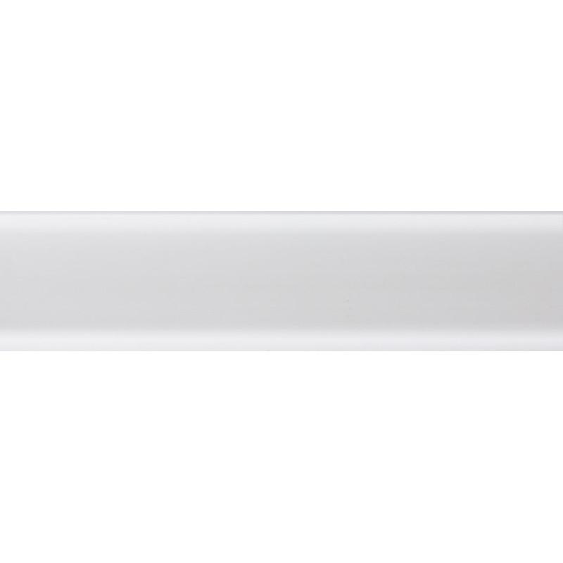 Плинтус пластиковый белый 2500 х 62 х 15