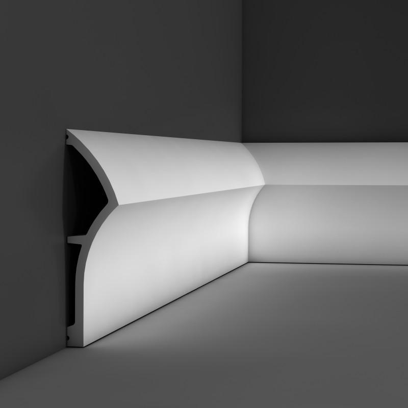 Плинтус дюрополимерный SX 167 2000 х 43 х 173 мм