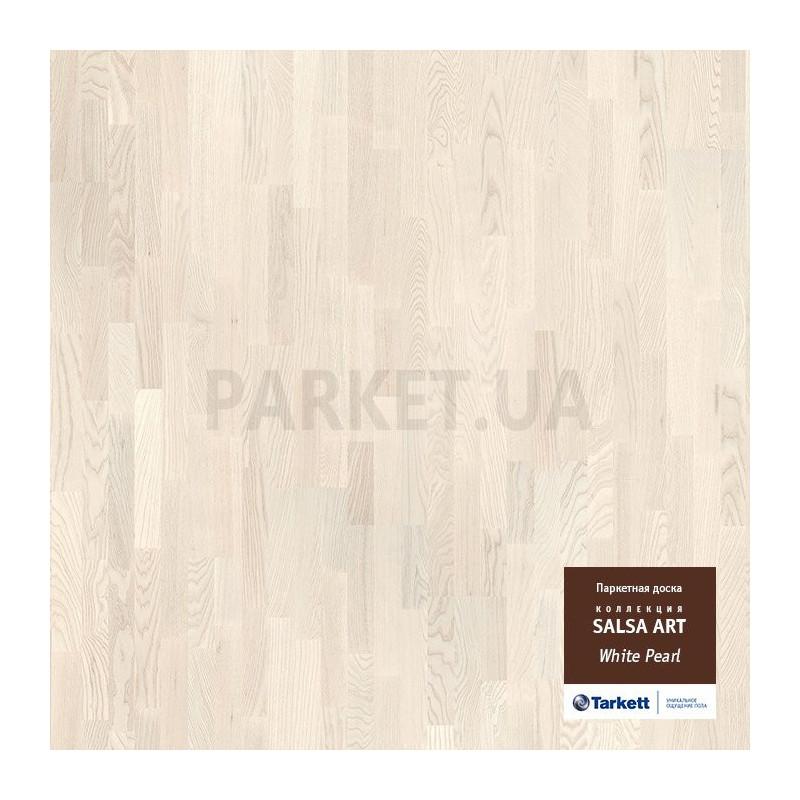 Паркетная доска Tarkett Salsa Art Вайт Перл