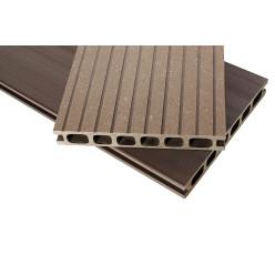 Brush Черный шоколад террасная доска композит